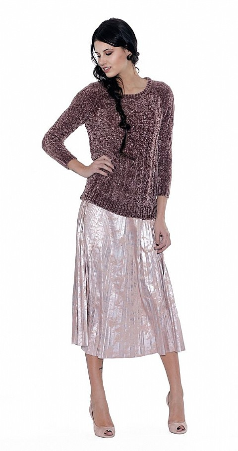 Jersey secrets Color marron - NO SECRETS