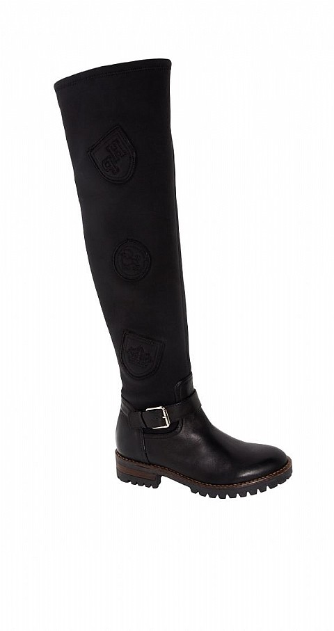 Bota leggin Color negro - Highly Preppy