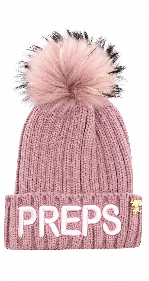 Gorro Prepps Color rosa - Highly Preppy