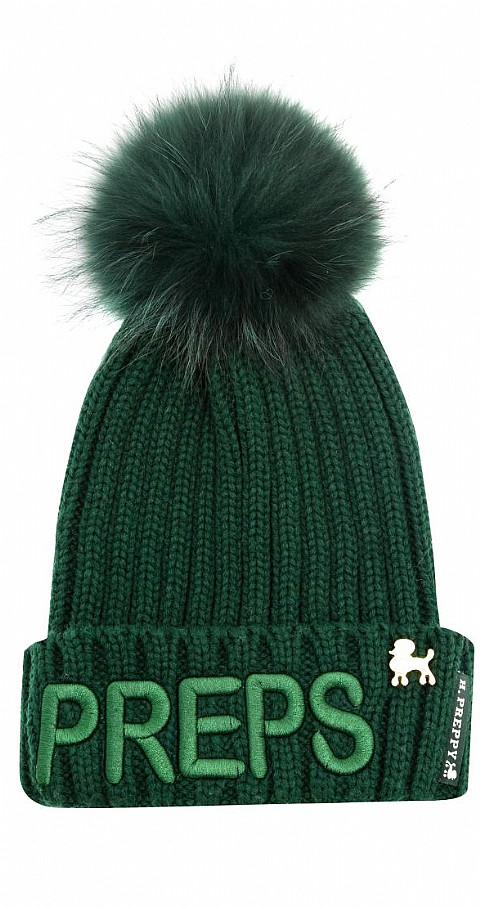 Gorro Prepps Color verde - Highly Preppy