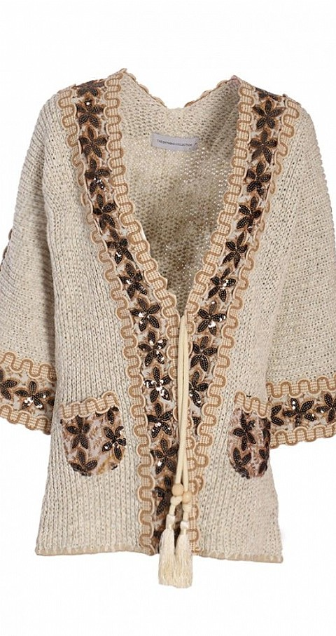 Chaqueta Deisy Color beige - THE EXTREME COLLECTION
