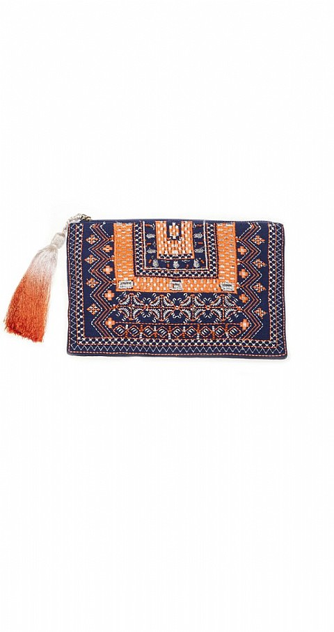 Clutch blue 1111 Color azul - ERFURT